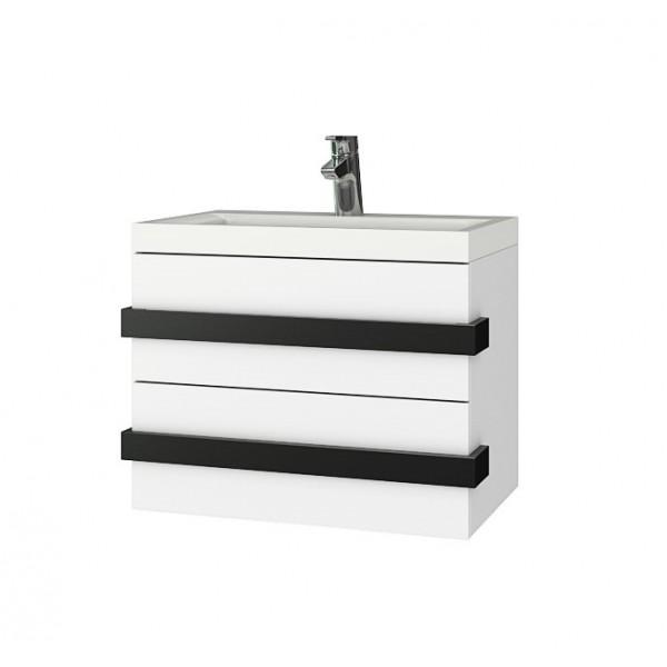 Triano Omega долен шкаф с мивка и две чекмеджета с плавно затваряне Omega 60см dolen_omega