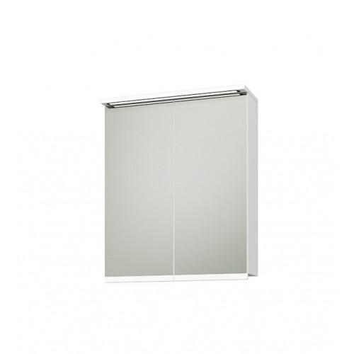 Triano Fenix горен шкаф с две вратички с плавно затваряне и LED осветление 55см