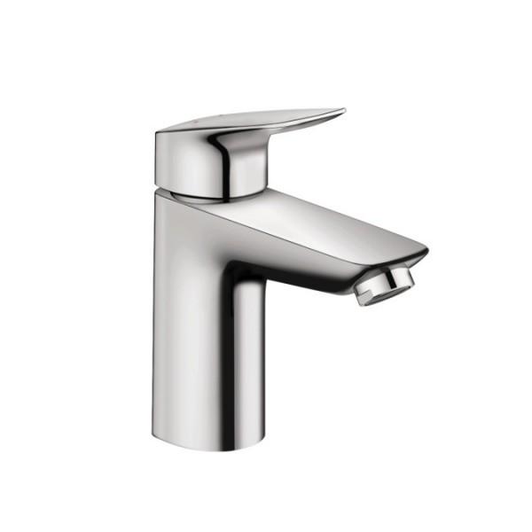Hansgrohe Logis 100 смесител за мивка с нисък дебит с изпразнител 71104000