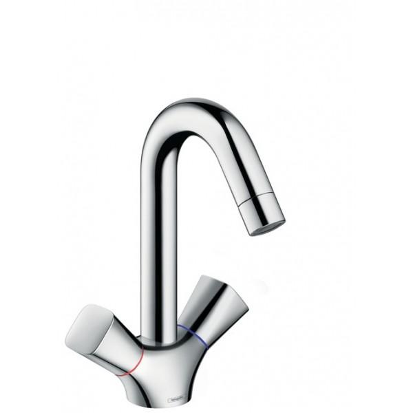 Hansgrohe Logis смесител за мивка двуръкохватков без изпразнител 71221000