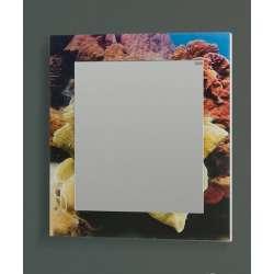 Visota Ana Print огледало с принт стъкло 70см
