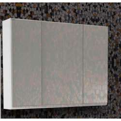 Visota Senso горен шкаф MDF с три огледални врати 94см goren_senso_mdf