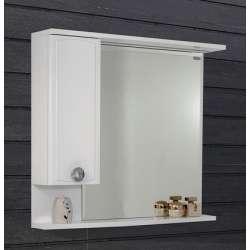 Visota Boriana горен шкаф MDF с огледало и LED осветление 83см goren_boriana_mdf