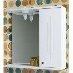 Visota Iva MDF горен шкаф 55.4 см с огледало и осветление goren_iva_mdf