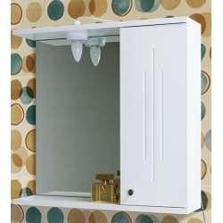 Visota Iva PVC горен шкаф 55.4 см с огледало и осветление goren_iva_pvc