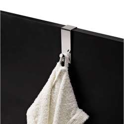 Gedy хромирана единична закачалка за кърпи за врата 1