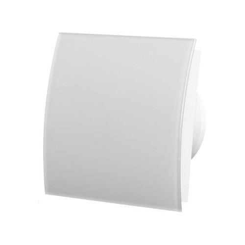 MMotors MM-P/06 - вентилатор за баня, стъкло - бял - овал