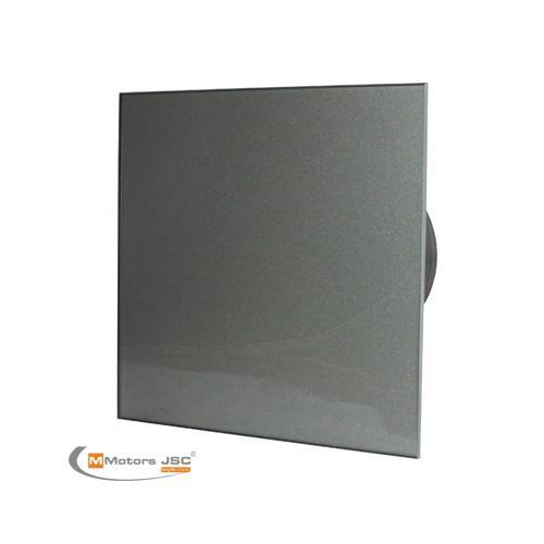 MMotors MM-P/06 - вентилатор за баня с намален шум, стъкло - графит