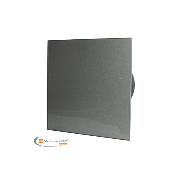 MMotors MM-P/06 - вентилатор за баня с намален шум, стъкло - графит 9166
