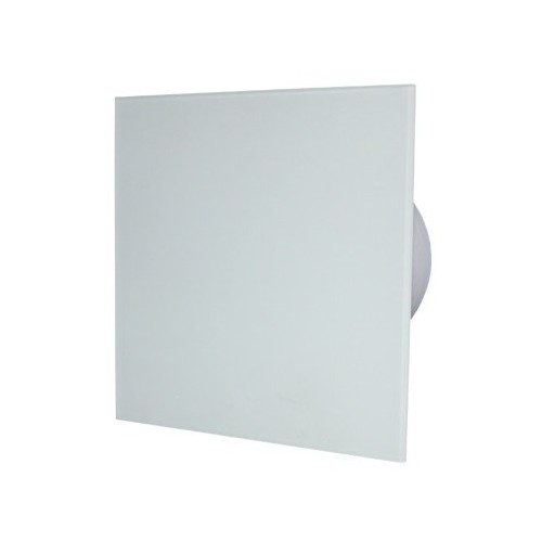 MMotors MM-P/06 - вентилатор за баня с намален шум, стъкло/бял мат