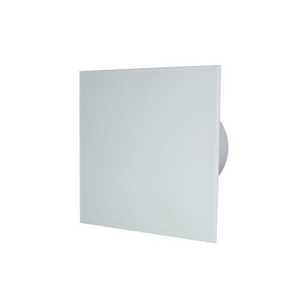 MMotors MM-P/06 - вентилатор за баня с намален шум, стъкло/бял мат 9302
