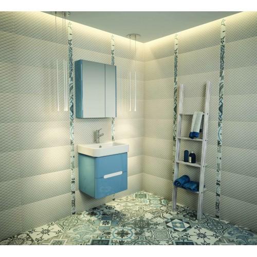 Arvipo Senso горен шкаф с огледални врати 65см цвят по RAL 2