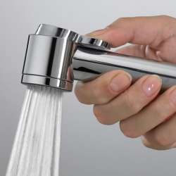 Bossini Paloma ABS хигиеничен душ с държач хром 2