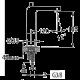 Bergsee Пикасо средно висок смесител за умивалник 2 BS 8227A-37