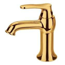 Bergsee Белла смесител за мивка златен BS 9808-76G
