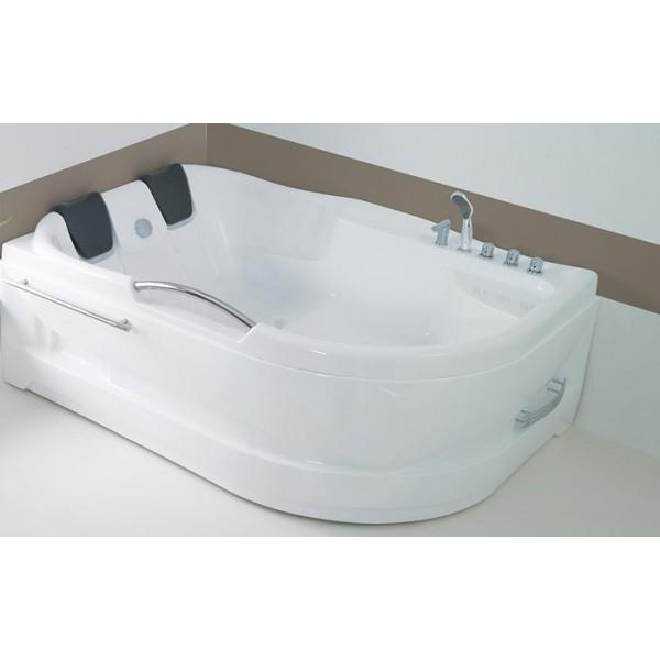 Wellis DUBLO 180х130 двойна хидромасажна вана