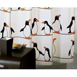 Pinguini завеса за баня с пингвини 180x200 0CO31830430