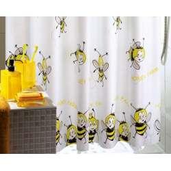 Honey Farm завеса за баня с пчелички 180x200 0CO31830430