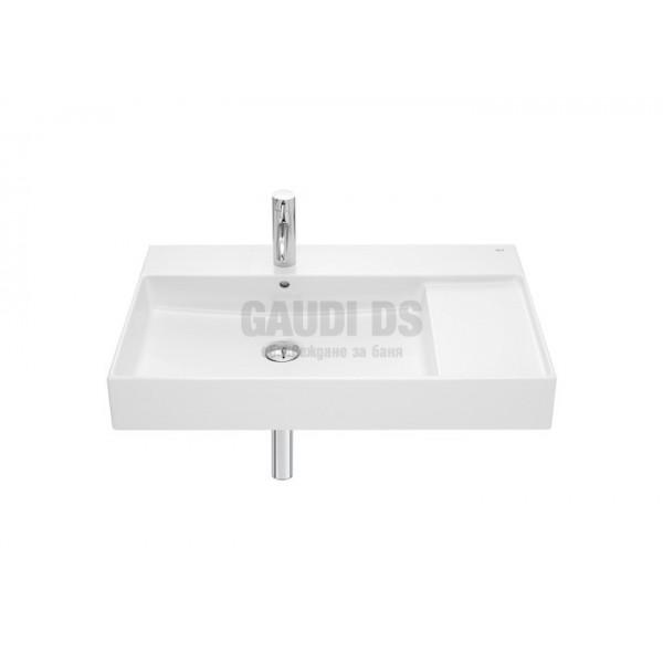 Roca Inspira 80 cm умивалник за монтаж на стена или върху мебел 32752B000