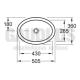 V&B Loop&Friends мивка за горно вграждане в плот 50x36 2 61551001