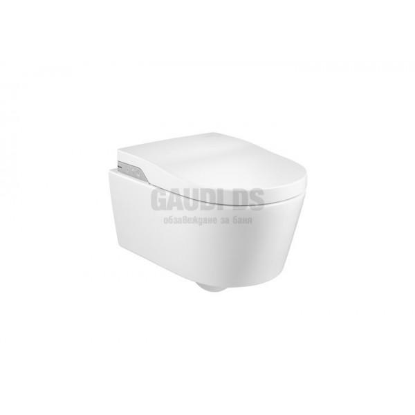 Roca Inspira In-Wash Smart Rimless тоалетна за окачване на стена 803060001