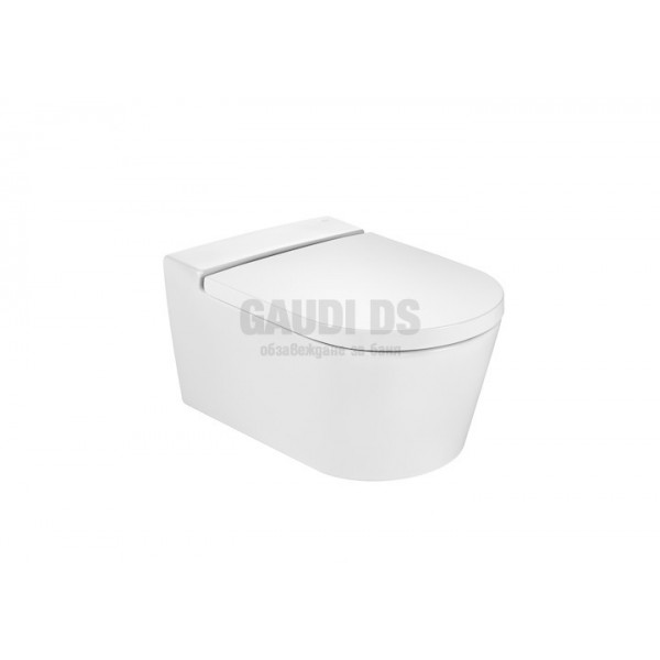 Roca Inspira Round Rimless тоалетна за окачване на стена 346527000