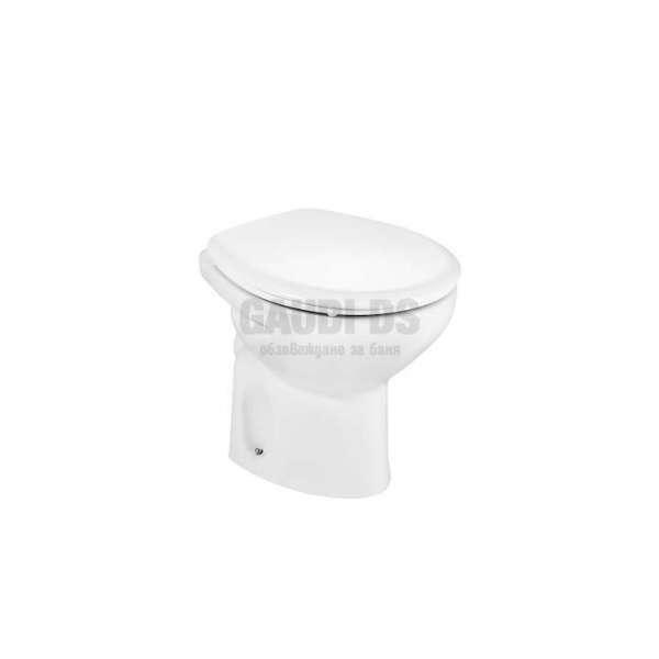 Roca Victoria стояща тоалетна чиния с хоризонтално оттичане