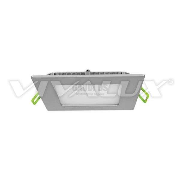 Vivaux LED панел - GRID LED 6W CL/SR сив корпус 003757