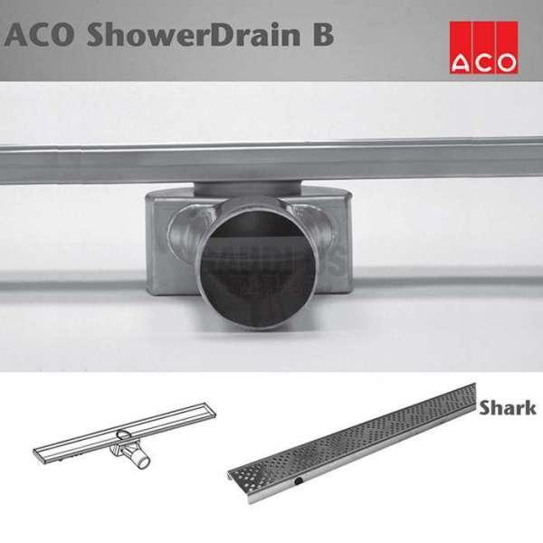 ACO Shower Drain B Shark 785x70mm лентов сифон 416259+416360