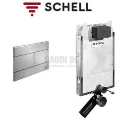 Schell Montus C-N 80 казанче за WC с метален бутон 030590099+030702899