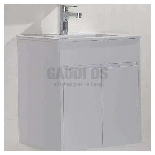 PVC лего шкаф за баня с мивка 50см Вера