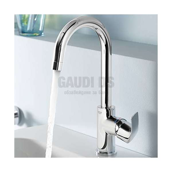 GROHE Eurosmart смесител за мивка с изпразнител 23537002