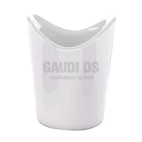 Gedy Moby стояща чаша за четки бяла