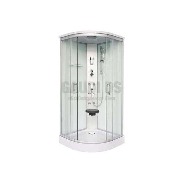 Хидромасажна затворена душ кабина 90х90х215 SKALA мат GDSSANCL106