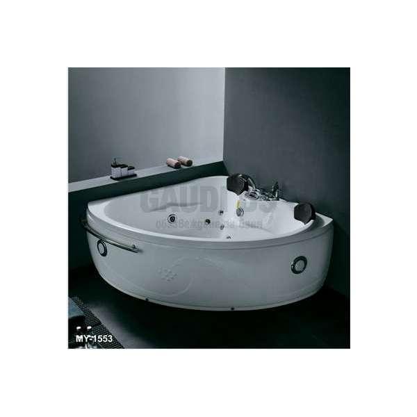 Ъглова вана с хидро и аеромасаж 161х161 см MY-1553