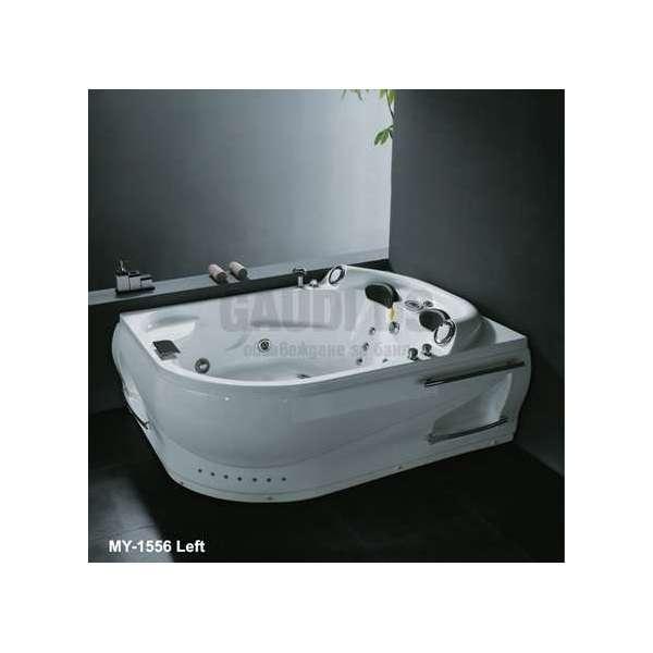 Ъглова вана с хидро и аеромасаж лява/дясна 192х145 см MY-1556