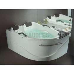 Ъглова вана с хидромасаж лява/дясна 173/120 см