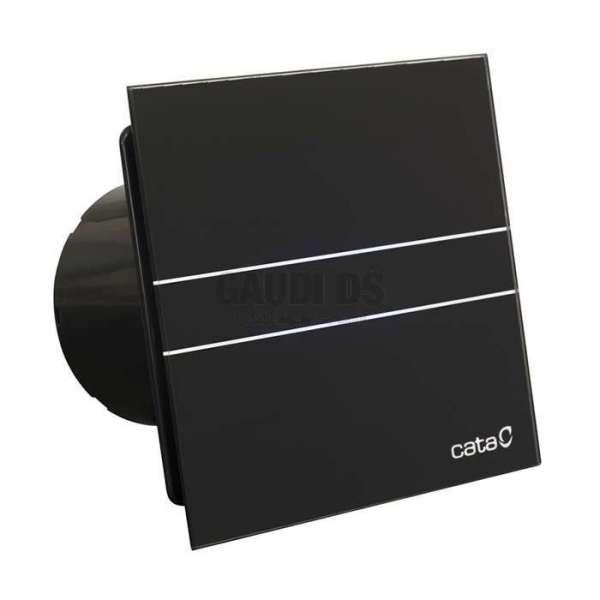 Cata E 100 G BK черен вентилатор за баня E 100 G BK