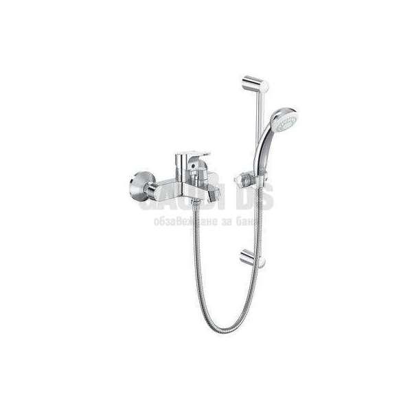 Vidima SevaNext смесител стенен за вана/душ с аксесоари B1931A