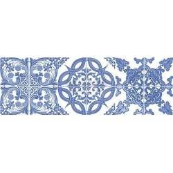 Фаянс Vintage Classic azul 20x60