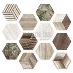 Hexa Afrika 23x27 плочки за баня 2