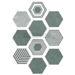 Hexa Pier 17 Turquoise 23x27 2