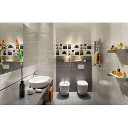 Elida Grey 22.3x44.8 плочки за баня