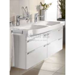 Villeroy & Boch Finion 130х47 см двойна мебелна мивка 4139D2R1