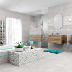 Roca Grey 25x75 плочки за баня 2