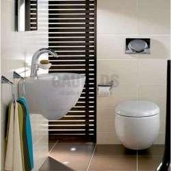 V&B Aveo New Generation 50х40.5 см овална мивка за стенен монтаж 413150