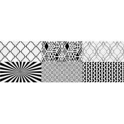 Декор Camaleonte Mix Negro 20x60
