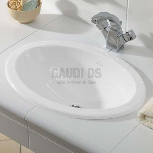 Villeroy & Boch Loop & Friends 66х47 см мивка за вграждане 61553001
