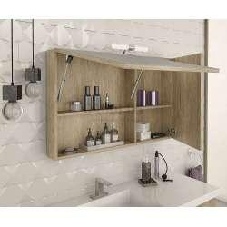 Комплект шкафове за баня Luxus 100 PL Wood 2
