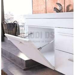 Комплект шкафове за баня Status 85 White 1